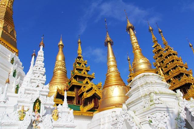 chrám pagoda shwedagon