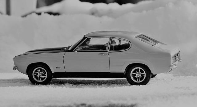 model auta Ford