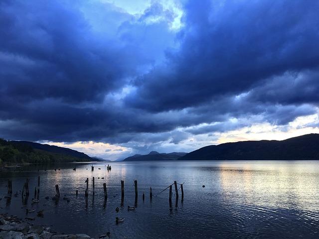 skotské jezero